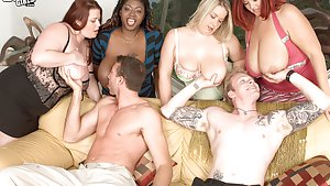 Big Tits Group Sex Pictures