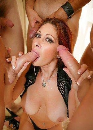 Big Tits Blowbang Pictures