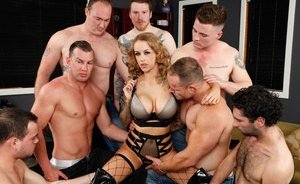 Busty Gangbang Pictures